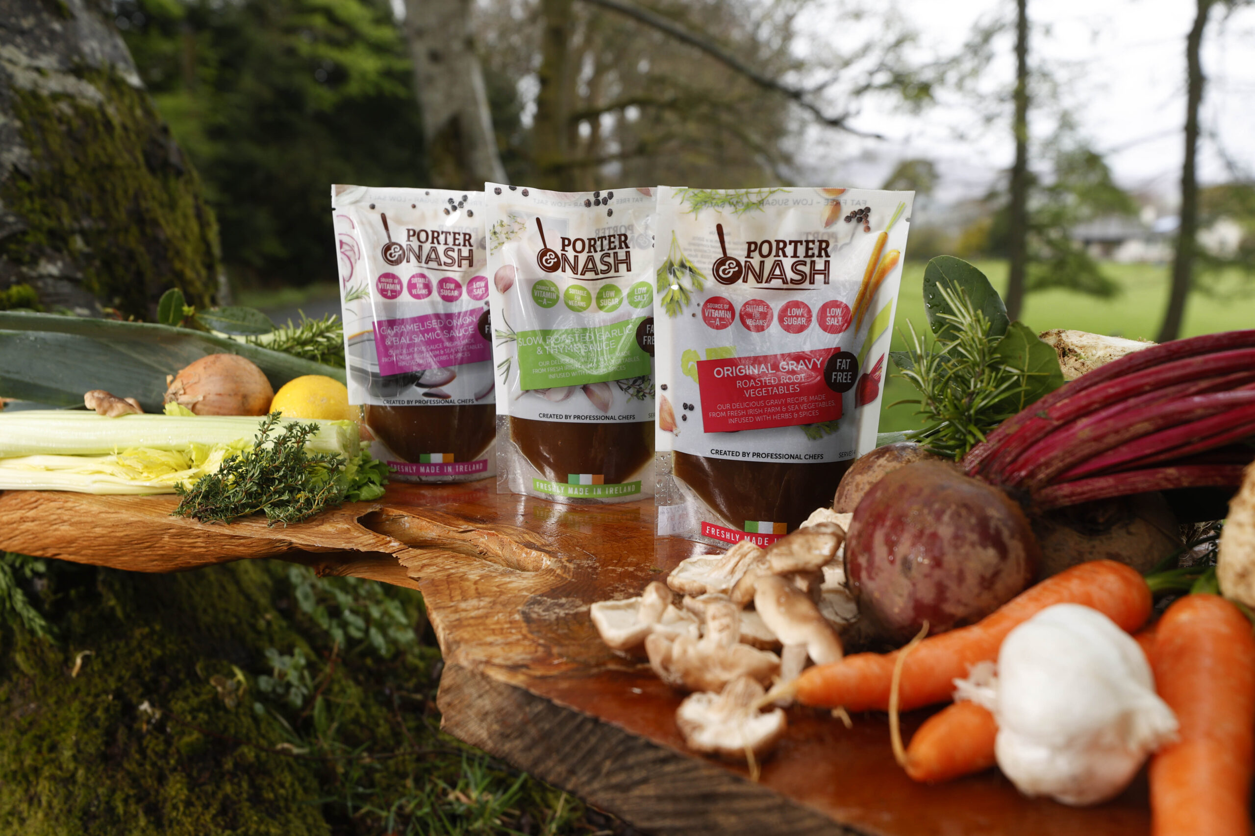 Porter & Nash sauces available in flagship Dunnes Stores under partnership with Allegro